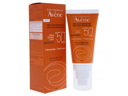 Avène crema color 50+