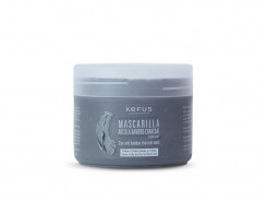 Mascarilla arcilla bamboo charcoal natural Kefus 250ml.